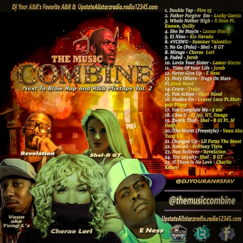 The Music Combine Next To Blow R&b/rap Mixtape Vol.2 Featuring JoRob