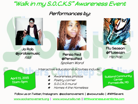 Walk in my S.O.C.K.S charity event